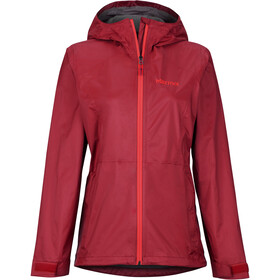 Marmot PreCip Eco Plus Jacket Women sienna red
